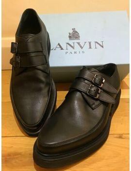 Lanvin Black Leather Shoes   Size 9 Uk by Ebay Seller