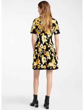 Peonie Knit Dress by Kenzo