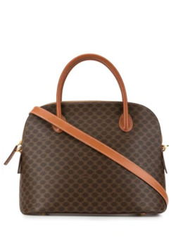 Macadam Pattern Tote by Céline Pre Owned