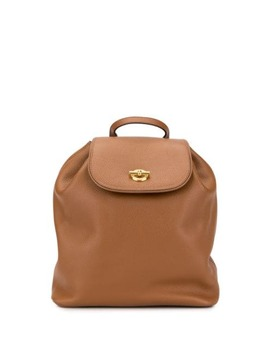 Ring Motif Backpack by Céline Pre Owned