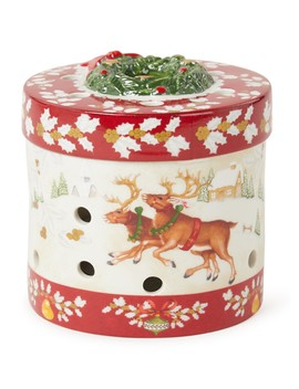Christmas Toy's Cadeauverpakking Waxinelichthouder 8,5 Cm by Villeroy & Boch