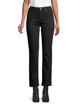 High Rise Ankle Length Jeans by Levi's