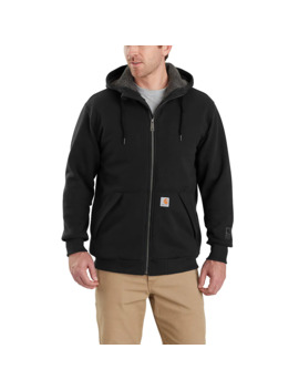 Rain Defender® Rockland Sherpa Lined Hooded Sweatshirt by Carhartt