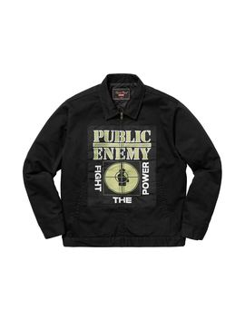 Supreme Undercover/Public Enemy Work Jacket Black by Stock X