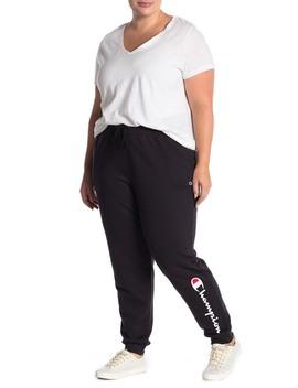 Powerblend Jogger Sweatpants (Plus Size) by Champion