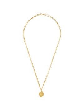 Gold 'the Unreasonable Imagination' Necklace by Alighieri