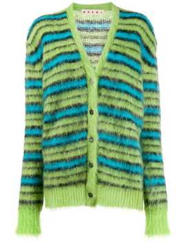 Striped Knit Cardigan by Marni