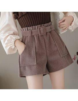 Ogawa   High Waist Plain Shorts by Ogawa
