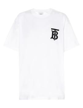 T Shirt Imprimé En Coton by Burberry