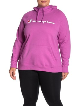 Powerblend Hoodie (Plus Size) by Champion