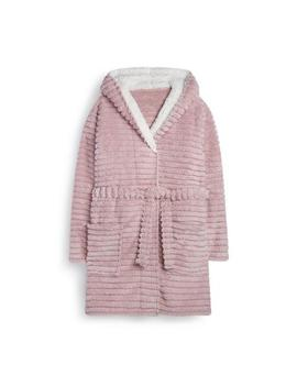 Pink Fluffy Robe by Primark