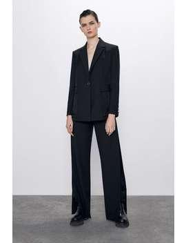 Reversible Combined Blazer by Zara