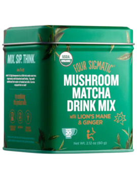 Mushroom Matcha Drink Mix With Lion's Mane & Ginger by Four Sigmatic