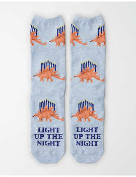 Aeo Light Up The Night Crew Sock by American Eagle Outfitters