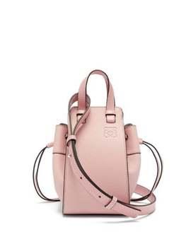 Hammock Mini Grained Leather Cross Body Bag by Loewe