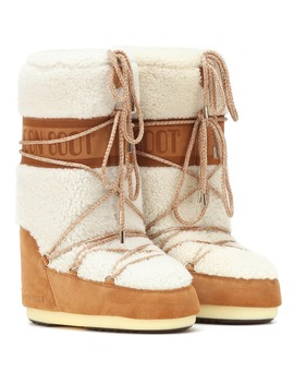 Wool And Suede Boots by Moon Boot