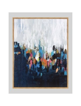 """24""""X30"""" Abstract Framed Wall Canvas Project 62™   Project 62™ by Project 62"""