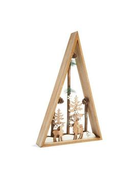 Christmas Wooden Room Decor by Primark