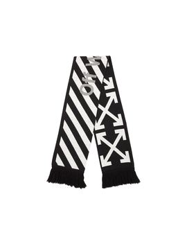 Off White Arrows Scarf (Ss19) Black/White by Stock X