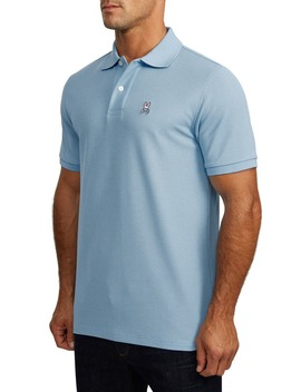Classic Solid Piqué Polo by Psycho Bunny