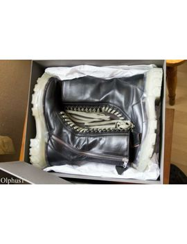 Rick Owens Clear Sole Tractor Boots Size 43 by Ebay Seller
