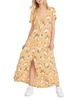 I Stay You Go Maxi Dress by Volcom