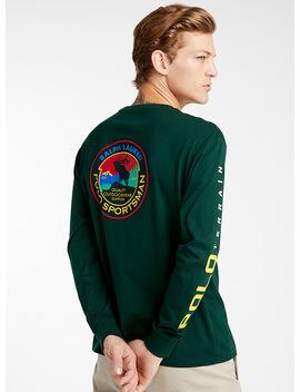 Sportsman Emblem T Shirt by Polo Ralph Lauren