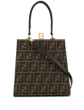 Zucca Pattern 2way Hand Bag by Fendi Pre Owned