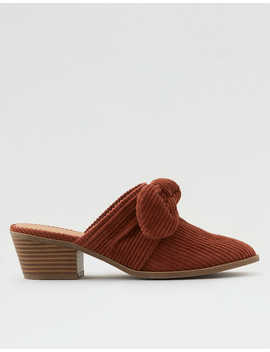 Aeo Knotted Bow Mule by American Eagle Outfitters