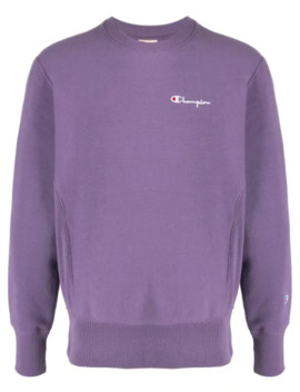 Small Script Crewneck Sweatshirt by Champion