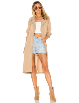 Rina Trench Coat by Tularosa