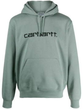 Logo Embroidery Hoodie by Carhartt Wip