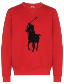 Logo Appliqué Sweatshirt by Polo Ralph Lauren