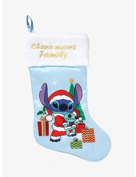 Disney Lilo & Stitch Ohana Means Family Stocking by Hot Topic