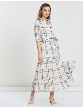 Long Sleeve Tiered Maxi Dress by Frankie + Dash