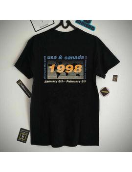 Vtg 1998 Oasis All Around The World Tour Usa & Canada T Shirt S 3 Xl... by Gildan