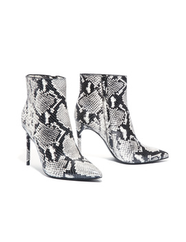 Celyn Snake Skin Bootie by Alice And Olivia