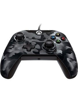 Wired Controller For Pc And Microsoft Xbox One   Black Camo by Pdp