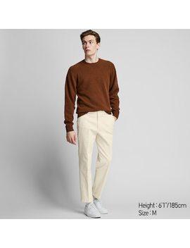 Men Ezy Corduroy Ankle Length Trousers (14) by Uniqlo