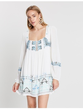 Rhiannon Embroidered Mini Dress by Free People