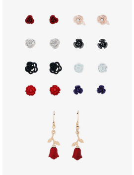 All Roses Stud Earring Set by Hot Topic