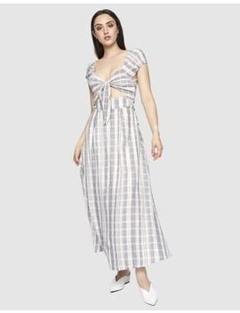 Annaliese Tie Up Maxi Dress by Ids
