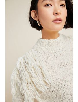 Stella Pardo Mansi Fringed Sweater by Stella Pardo