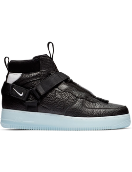 Air Force 1 Mid Utility Black Half Blue by Stock X