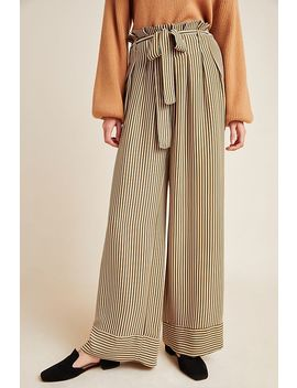 Jasmine Striped Wide Leg Pants by Current Air