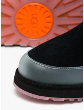 X Ugg Black Classic Mini Tech Boots by Heron Preston
