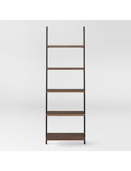 "Loring 72"" 5 Shelf Leaning Bookcase   Project 62™ by Shop Collections"