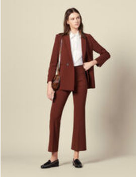 Flared Tailored Pants by Sandro Eshop