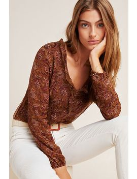 Loreta Silk Blouse by Louise Misha