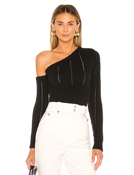 Landau Sweater In Black by Majorelle